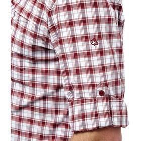 Craghoppers NosiLife Tristan overhemd en blouse lange mouwen Heren rood/wit